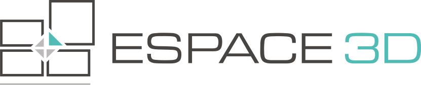 Logo espace 3d