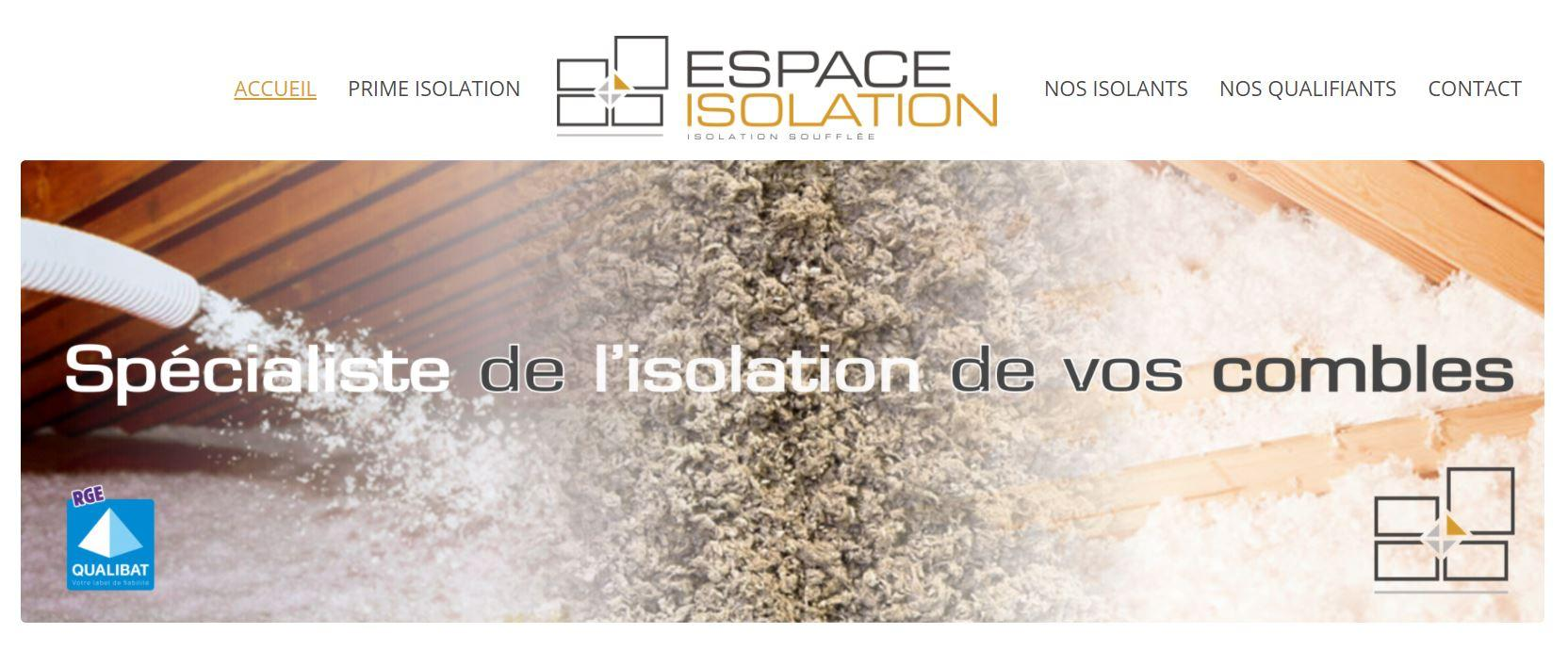 Espace isolation